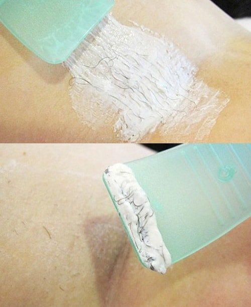 Удаление волос кремом
