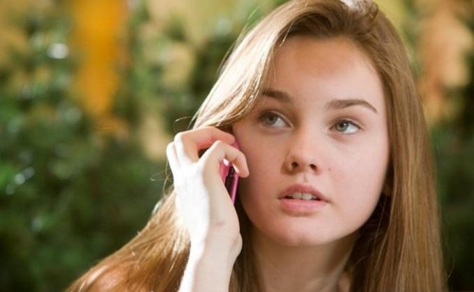 Девушка в подростком возрасте