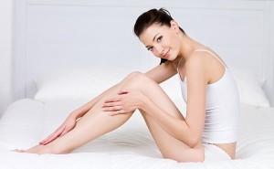 Гладкие ножки после депиляции