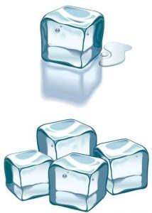 Лед кубиками