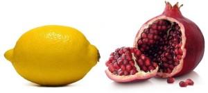 Отбеливание фруктами