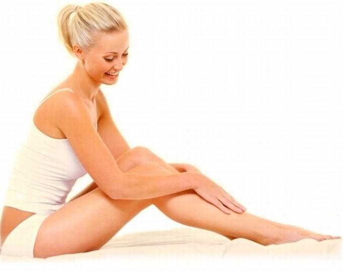 Увлажнение ног после депиляции
