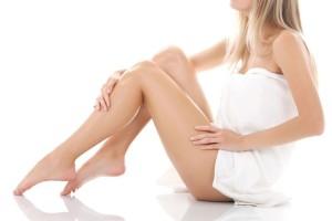 Гладкие ножки у женщины