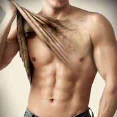 Эпиляция волос у мужчин