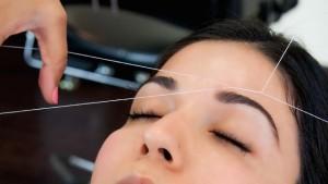 Депиляция волос нитью
