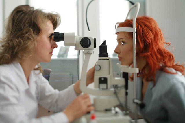 Проверка глазного дна